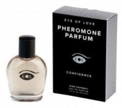 """EYE OF LOVE Pheromon-Parfum Deluxe - Confidence for men, enesekindla mehe feromoon"