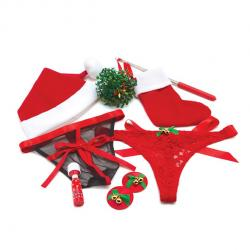 BODYWAND - UNDER THE MISTLETOE GIFT SET, seksikas jõulukomplekt kuuse alla, 8 osa