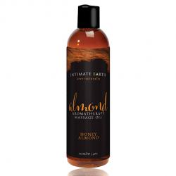 INTIMATE EARTH - ALMOND MASSAGE OIL, mandli massaažiõli, 120ml