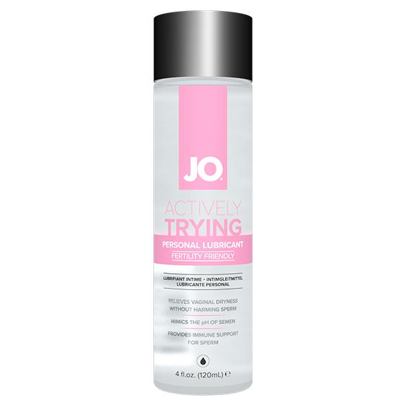 SYSTEM JO - ACTIVELY TRYING (TTC) ORIGINAL LUBRICANT, rasestumist soodustav libesti, 120 ML