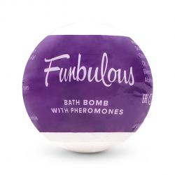 OBSESSIVE - BATH BOMB WITH PHEROMONES FUN, vannipomm, 100g