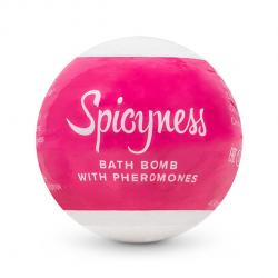 OBSESSIVE - BATH BOMB WITH PHEROMONES SPICY, vannipomm, 100g