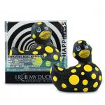 I RUB MY DUCKIE 2.0 | HAPPINESS (BLACK & YELLOW),  vibratsiooniga vannipart